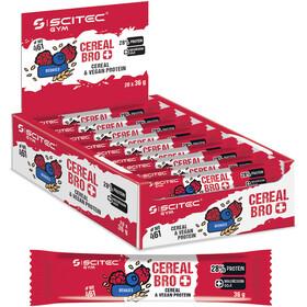 SCITEC Cereal Bro Vegan Bar Box vegan 20x36g, Berries
